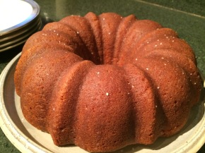 Delicious! ginger cake